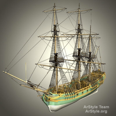 Aurore Ship Vessel