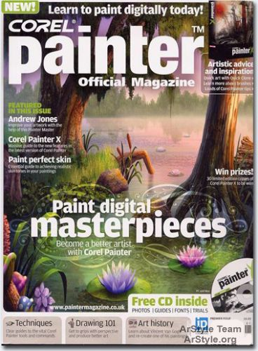 Corel Painter Official Magazine Issue 01
