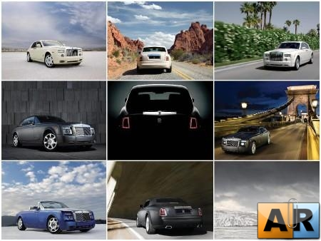 100 Amazing Rolls-Royce Phantom HQ wallpapers