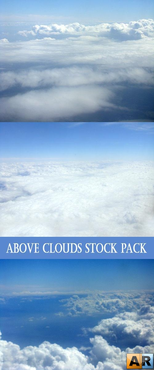 Фотоклипарт - Above clouds Stock pack