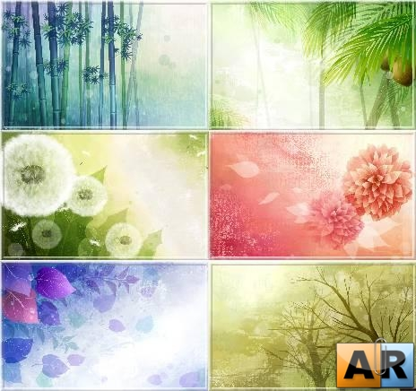 Vector Art Flowers Wallpapers