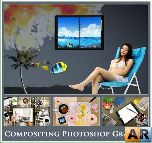 Compositing Photoshop Graphic