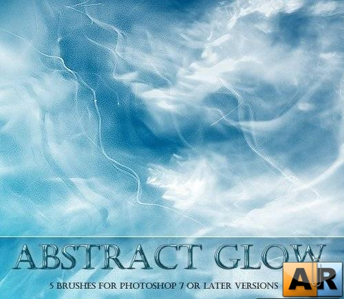 Кисти для Photoshop - Abstract Glow