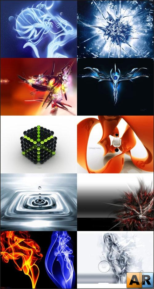 3D Wallpapers Pack