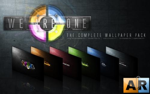 We aRe oNe Wallpaper Pack
