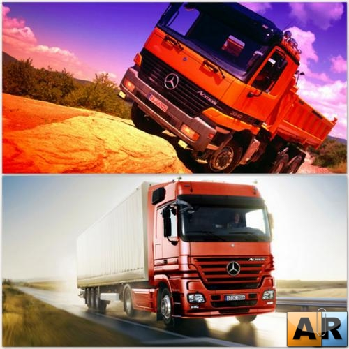 Mercedes-Benz trucks Wallpapers