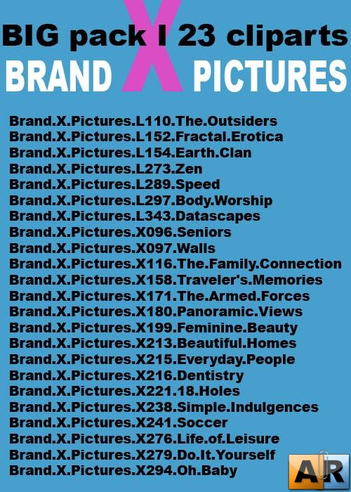 BrandX Pictures BIG PACK1 23 клипарта
