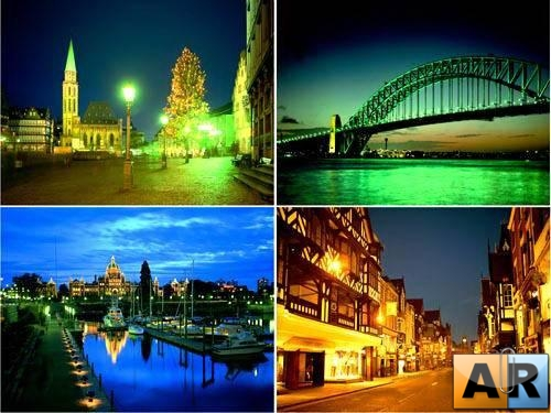 Night City Lights Wallpapers Pack #2 - Красивые обои!