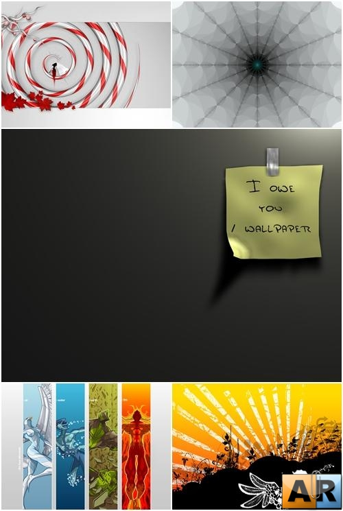 Wallpapers - Digital MIX Pack#10