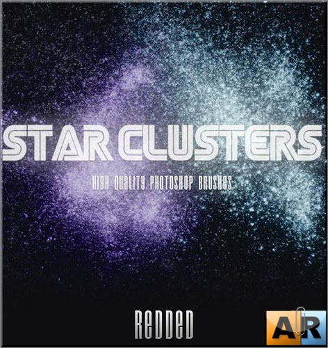 Star Clusters - HQ brushes