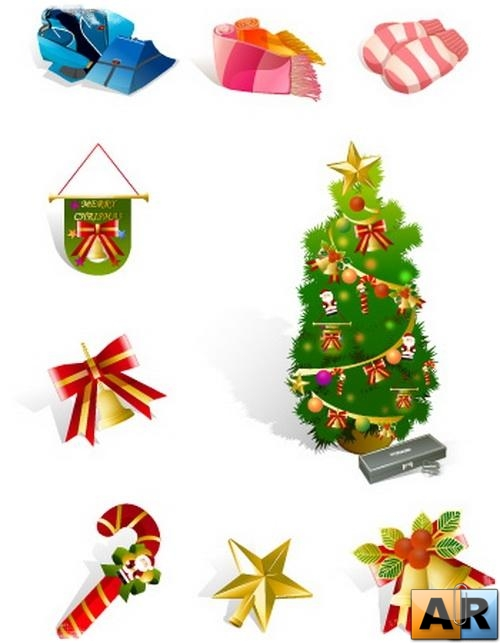 Vector - New Year and Christmas Pack#4