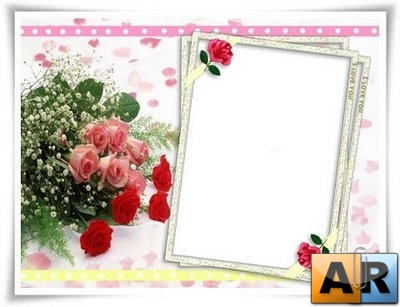 Photo Frame - PSD Template for Photoshop (LOVE)