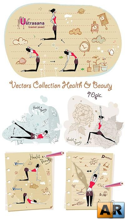 Vectors Collection Health & Beauty