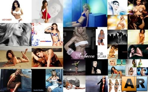 women wallpapers pack5, Обои на тему знаминитости и модэли сборник 5