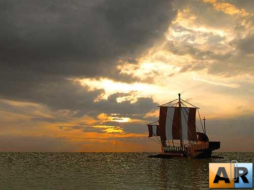 Great 3D Sailing Ships Wallpapers Pack