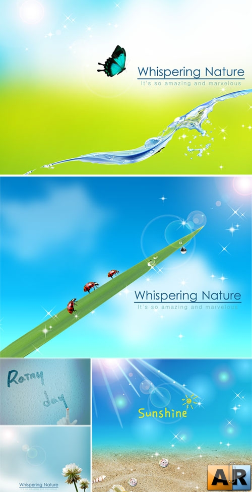 PSD templates - Nature 3