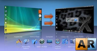 Leopard Transformation Pack - Theme for Windows Vista