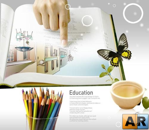 PSD templates - Education 1