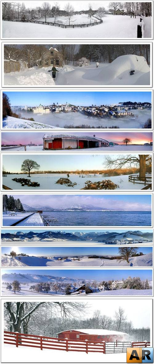 Winter panorams