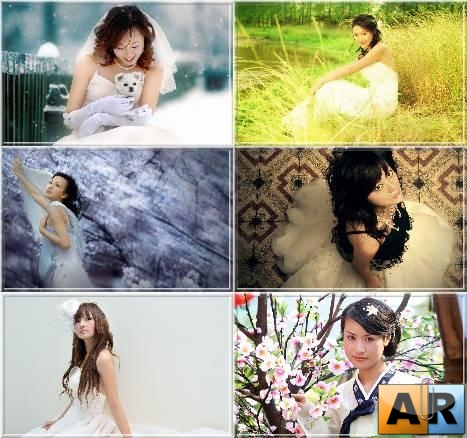 Asian Girls Wallpapers Set 2