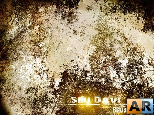 Seu Davi Grunge - Rust Brush