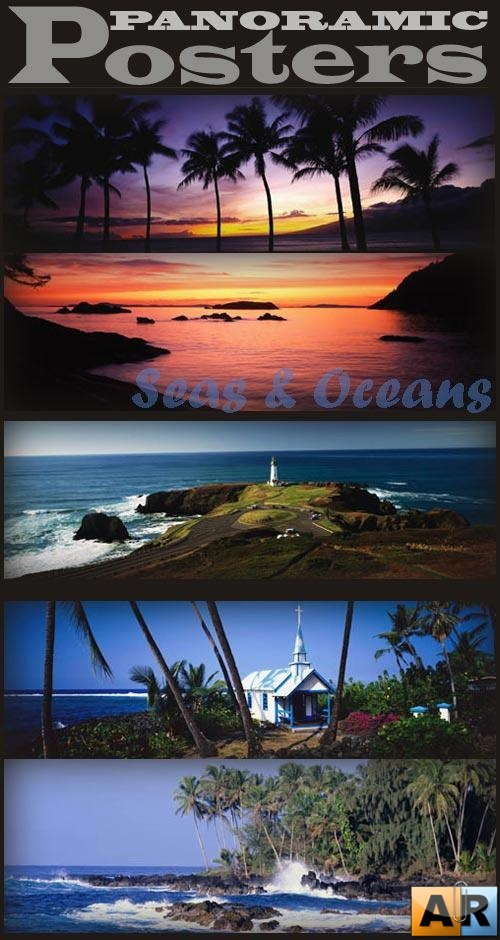 Panoramic Posters. Seas & Oceans