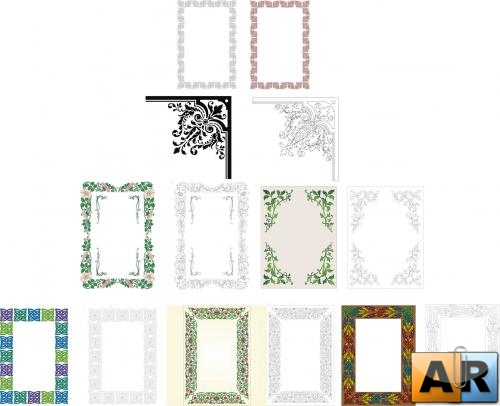 Border and frame patterns