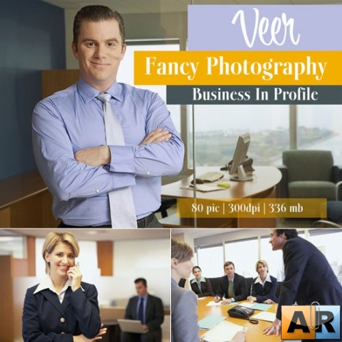 Фотоклипарт - Business In Profile от Veer Fancy