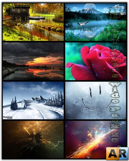HD Wallpapers Wide Pack №25