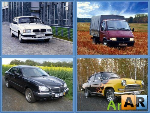 Russian avto wallpapers / GAZ.