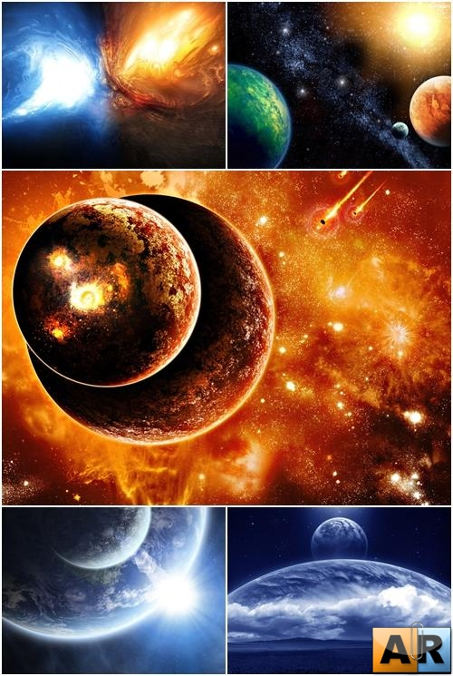 Wallpapers - Space Art Pack [HD]