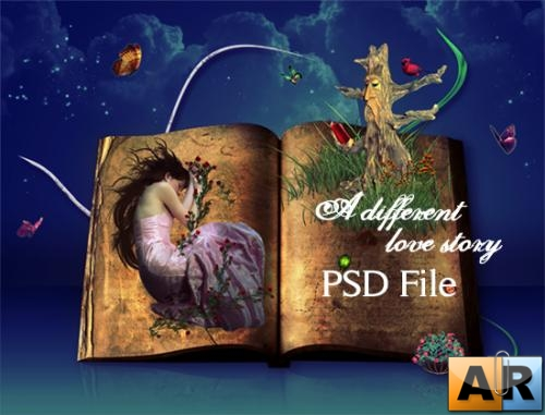 Different love story - PSD