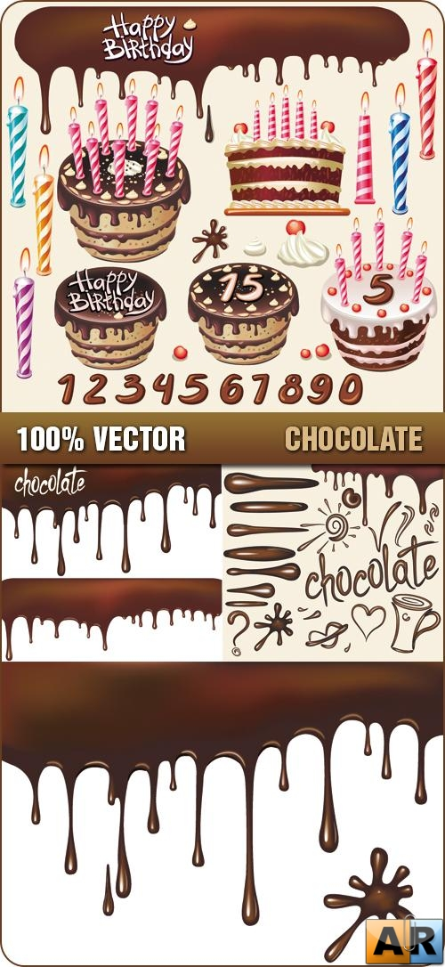 Stock Vector - Chocolate