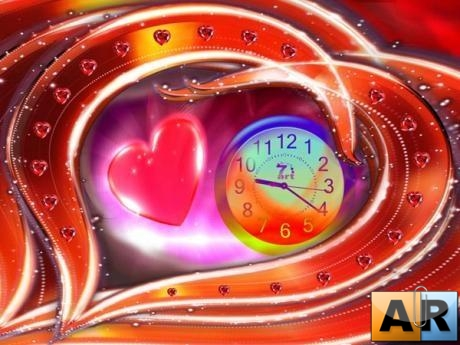 Love Dance Clock Screensaver 1.0