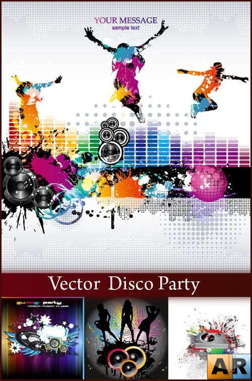 Vector - Disco Party