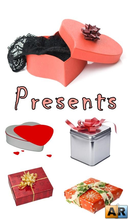 Presents box clipart