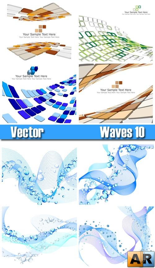 Stck Vector - Waves 10