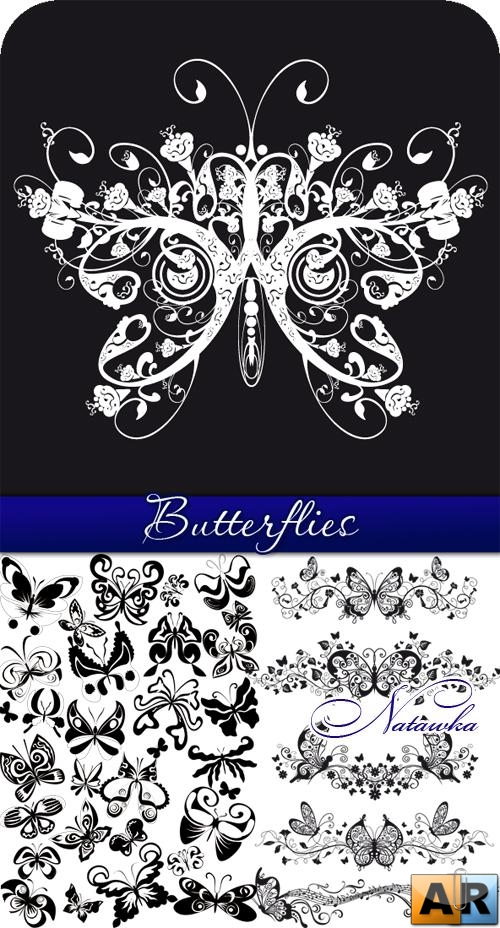 Butterflies - vector