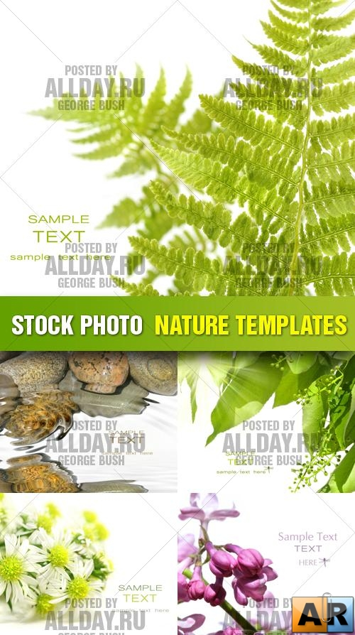 Stock Photo - Nature Templates