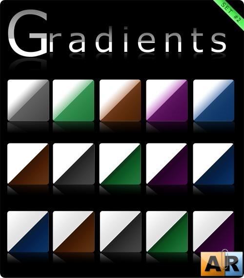 Градиенты (Gradients set #2)