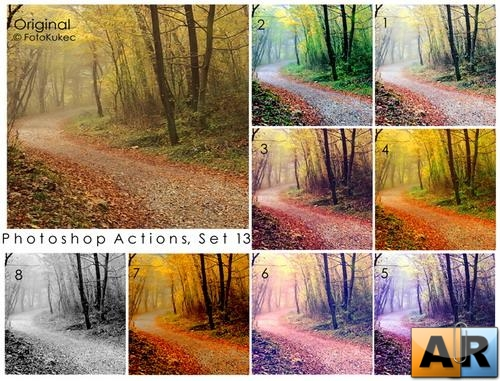 Photoshop Actions Set 13 by TheYummyOne