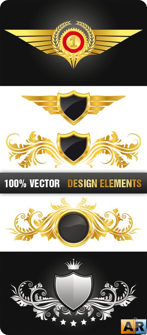 Stock Vecor - Design Elements