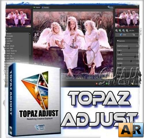Topaz Adjust HDR 4.0 Plugins for Adobe Photoshop 2010
