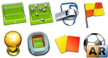 Free Soccer Icon Collection