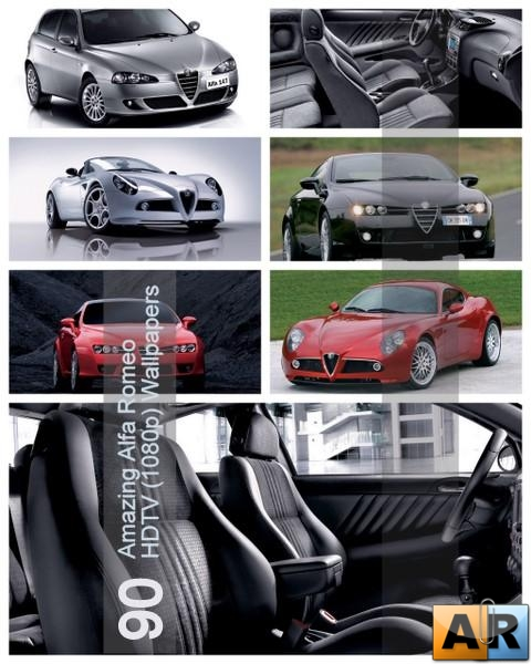 90 Amazing Alfa Romeo HDTV (1080p) Wallpapers