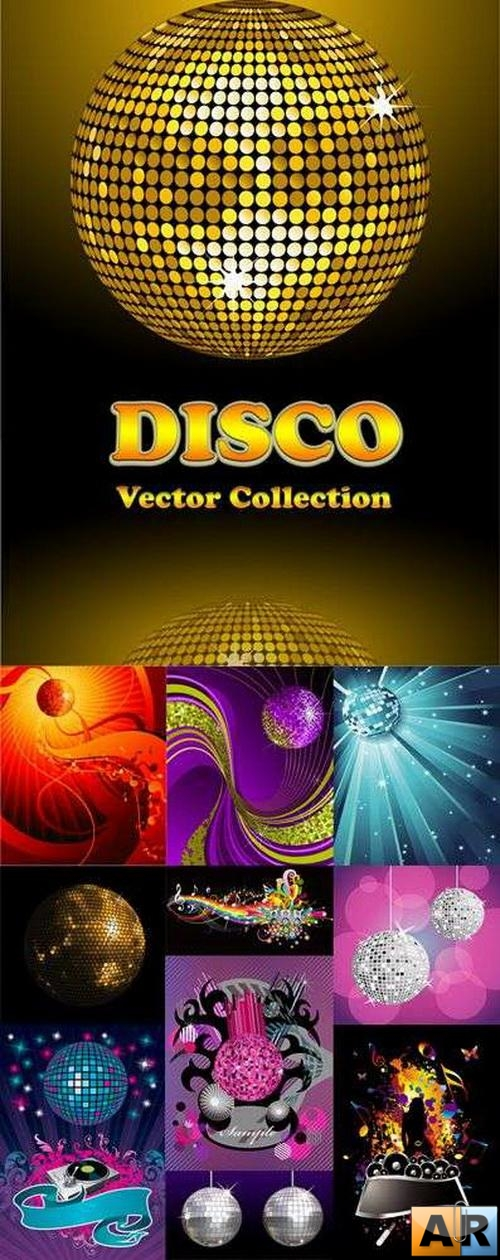 Disco Vector Collection