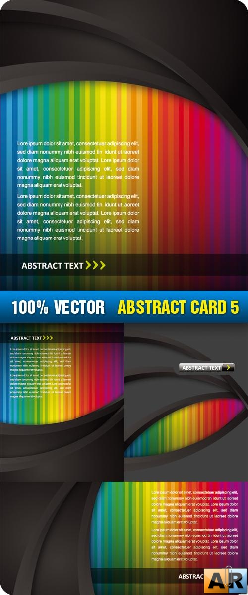 Stock Vector - Abstract Card 5