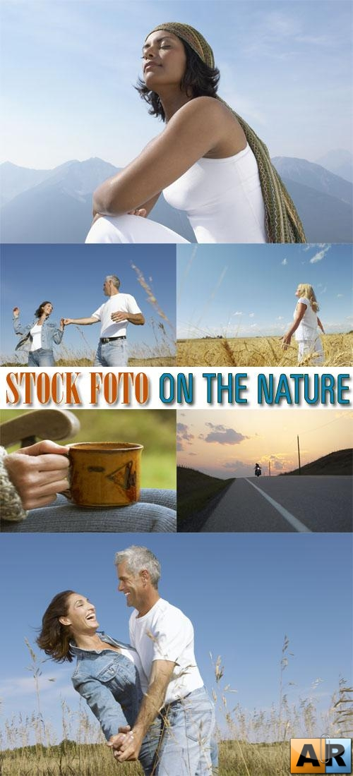 Stock Foto: On The Nature