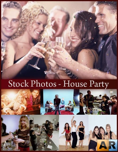 Stock Photos - House Party