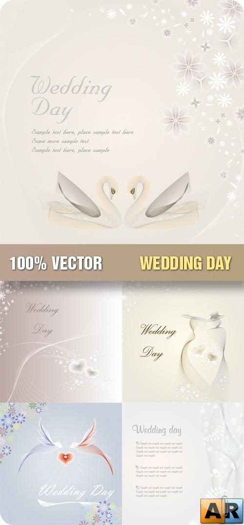 Stock Vector - Wedding Day